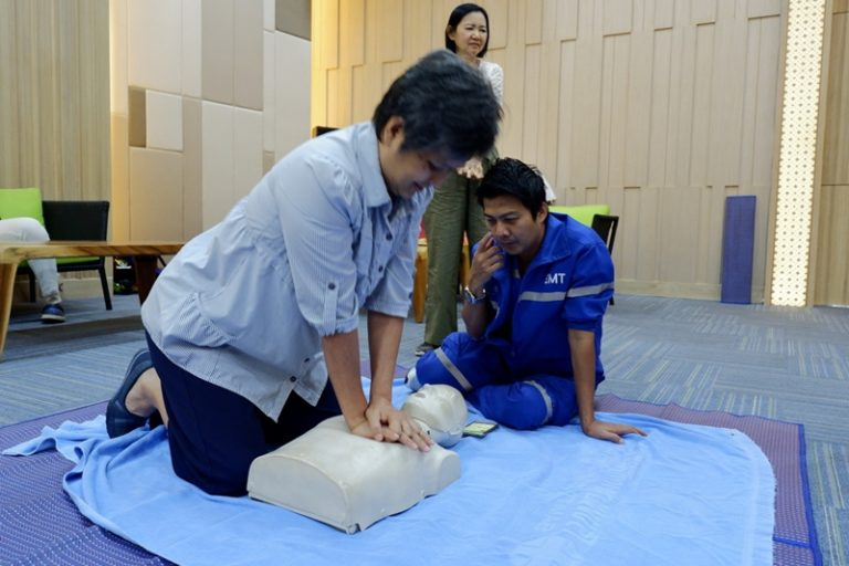 Sikhara Plago Resort : CPR Training (June 30, 2018)